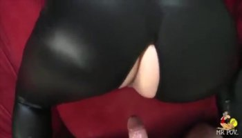Horny Latina babe Honey dildoes her slutty cunt